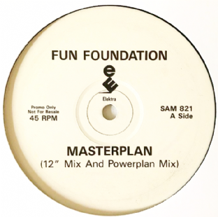 "Fun Foundation ‎- Masterplan (12"") (Promo) (G++/NM)"